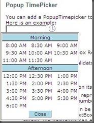Popup_Timepicker